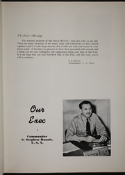 Page 9, 1946 Edition, University of New Mexico NROTC - Mark Yearbook (Albuquerque, NM) online yearbook collection