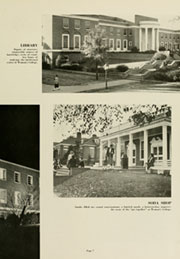 University of North Carolina Greensboro - Pine Needles Yearbook (Greensboro, NC) online yearbook collection, 1959 Edition, Page 11 of 256