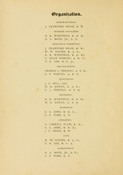 Page 12, 1892 Edition, University of North Carolina Chapel Hill - Yackety Yack Yearbook (Chapel Hill, NC) online yearbook collection