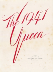 Page 7, 1947 Edition, University of North Texas - Yucca Yearbook (Denton, TX) online yearbook collection