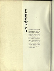 Page 6, 1936 Edition, University of Notre Dame - Dome Yearbook (Notre Dame, IN) online yearbook collection