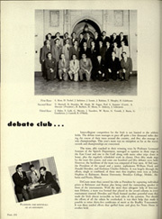 University of Notre Dame - Dome Yearbook (Notre Dame, IN) online yearbook collection, 1952 Edition, Page 256
