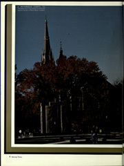 Page 10, 1988 Edition, University of Notre Dame - Dome Yearbook (Notre Dame, IN) online yearbook collection
