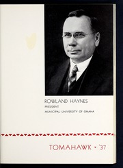 Page 17, 1937 Edition, University of Omaha - Tomahawk / Gateway Yearbook (Omaha, NE) online yearbook collection