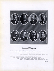 Page 8, 1912 Edition, University of Oregon - Oregana Yearbook (Eugene, OR) online yearbook collection