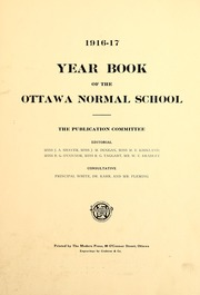 University of Ottawa - Annuaire Yearbook (Ottawa, Ontario Canada) online yearbook collection, 1917 Edition, Page 7