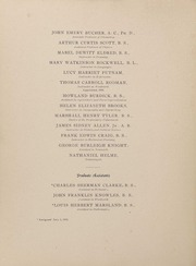 University of Rhode Island - Grist Yearbook (Kingston, RI) online yearbook collection, 1900 Edition, Page 18