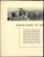 Page 12, 1926 Edition, University of Richmond - Web Yearbook (Richmond, VA) online yearbook collection