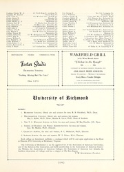 University of Richmond - Web Yearbook (Richmond, VA) online yearbook collection, 1942 Edition, Page 183