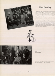 University of Rochester - Interpres Yearbook (Rochester, NY) online yearbook collection, 1950 Edition, Page 16