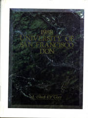 University of San Francisco - USF Don Yearbook (San Francisco, CA) online yearbook collection, 1988 Edition, Cover
