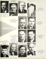 University of Saskatchewan - Greystone Yearbook (Saskatoon, Saskatchewan Canada) online yearbook collection, 1957 Edition, Page 9