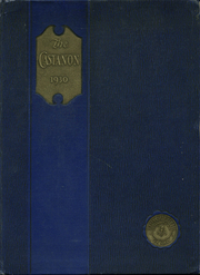 University School for Girls - Castanon Yearbook (Chicago, IL) online yearbook collection, 1930 Edition, Cover