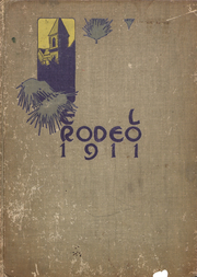 University of Southern California - El Rodeo Yearbook (Los Angeles, CA) online yearbook collection, 1911 Edition, Cover