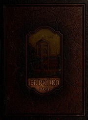 University of Southern California - El Rodeo Yearbook (Los Angeles, CA) online yearbook collection, 1923 Edition, Cover
