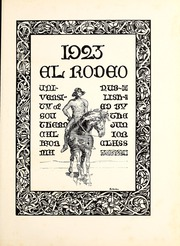 Page 7, 1923 Edition, University of Southern California - El Rodeo Yearbook (Los Angeles, CA) online yearbook collection