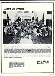 University of Southern California - El Rodeo Yearbook (Los Angeles, CA) online yearbook collection, 1985 Edition, Page 167