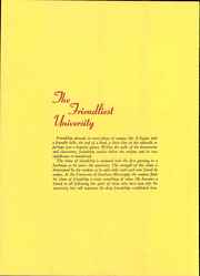 Page 8, 1966 Edition, University of Southern Mississippi - Southerner Yearbook (Hattiesburg, MS) online yearbook collection