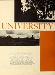 Page 14, 1967 Edition, University of Southern Mississippi - Southerner Yearbook (Hattiesburg, MS) online yearbook collection