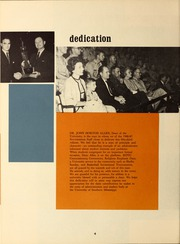 Page 8, 1967 Edition, University of Southern Mississippi - Southerner Yearbook (Hattiesburg, MS) online yearbook collection