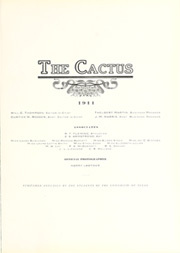 University of Texas Austin - Cactus Yearbook (Austin, TX) online yearbook collection, 1911 Edition, Page 7