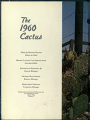 Page 6, 1960 Edition, University of Texas Austin - Cactus Yearbook (Austin, TX) online yearbook collection