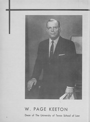 University of Texas School of Law - Peregrinus Yearbook (Austin, TX) online yearbook collection, 1967 Edition, Page 12