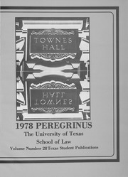University of Texas School of Law - Peregrinus Yearbook (Austin, TX) online yearbook collection, 1978 Edition, Page 5