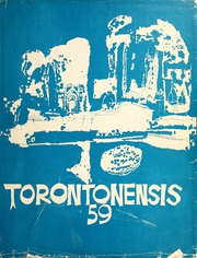 University of Toronto - Torontonensis Yearbook (Toronto, Ontario Canada) online yearbook collection, 1959 Edition, Cover