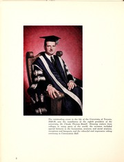 Page 6, 1959 Edition, University of Toronto - Torontonensis Yearbook (Toronto, Ontario Canada) online yearbook collection