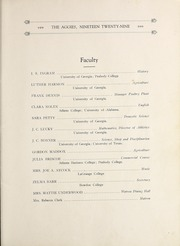 Page 13, 1929 Edition, University of West Georgia - Chieftain Yearbook (Carrollton, GA) online yearbook collection