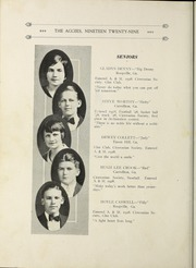 Page 16, 1929 Edition, University of West Georgia - Chieftain Yearbook (Carrollton, GA) online yearbook collection