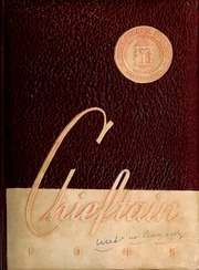 University of West Georgia - Chieftain Yearbook (Carrollton, GA) online yearbook collection, 1945 Edition, Cover