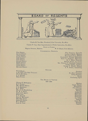 Page 15, 1909 Edition, University of Wisconsin Madison - Badger Yearbook (Madison, WI) online yearbook collection