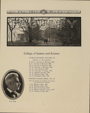 Page 12, 1911 Edition, University of Wisconsin Madison - Badger Yearbook (Madison, WI) online yearbook collection