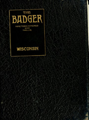 University of Wisconsin Madison - Badger Yearbook (Madison, WI) online yearbook collection, 1912 Edition, Cover