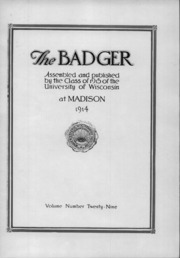 Page 9, 1915 Edition, University of Wisconsin Madison - Badger Yearbook (Madison, WI) online yearbook collection