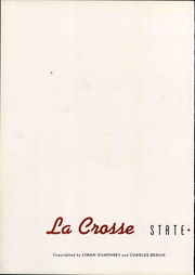Page 8, 1941 Edition, University of Wisconsin La Crosse - La Crosse Yearbook (La Crosse, WI) online yearbook collection