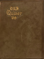 University of Wisconsin Oshkosh - Quiver Yearbook (Oshkosh, WI) online yearbook collection, 1909 Edition, Cover
