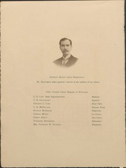 Page 10, 1909 Edition, University of Wisconsin Oshkosh - Quiver Yearbook (Oshkosh, WI) online yearbook collection