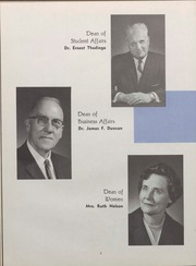Page 10, 1964 Edition, University of Wisconsin Oshkosh - Quiver Yearbook (Oshkosh, WI) online yearbook collection
