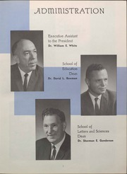 Page 9, 1964 Edition, University of Wisconsin Oshkosh - Quiver Yearbook (Oshkosh, WI) online yearbook collection