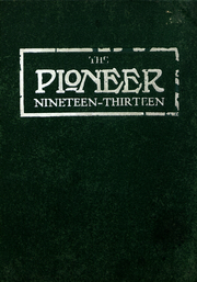 University of Wisconsin Platteville - Pioneer Yearbook (Platteville, WI) online yearbook collection, 1913 Edition, Cover