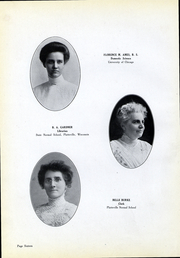 Page 16, 1913 Edition, University of Wisconsin Platteville - Pioneer Yearbook (Platteville, WI) online yearbook collection