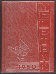 University of Wisconsin River Falls - Meletean Yearbook (River Falls, WI) online yearbook collection, 1950 Edition, Cover