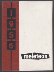 University of Wisconsin River Falls - Meletean Yearbook (River Falls, WI) online yearbook collection, 1956 Edition, Cover