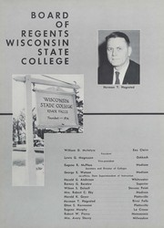 Page 10, 1956 Edition, University of Wisconsin River Falls - Meletean Yearbook (River Falls, WI) online yearbook collection