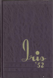University of Wisconsin Stevens Point - Horizon / Iris Yearbook (Stevens Point, WI) online yearbook collection, 1952 Edition, Cover