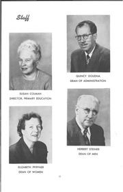 Page 13, 1952 Edition, University of Wisconsin Stevens Point - Horizon / Iris Yearbook (Stevens Point, WI) online yearbook collection