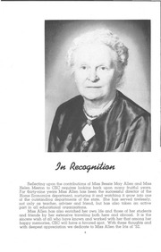 Page 6, 1952 Edition, University of Wisconsin Stevens Point - Horizon / Iris Yearbook (Stevens Point, WI) online yearbook collection
